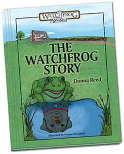 The WatchFrog Story Hardcover book